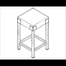 Földi hústőke (50×50×90)