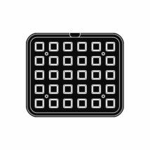 Pavoni sütőlemez (kocka)