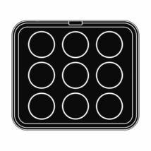 Pavoni sütőlemez (kör)