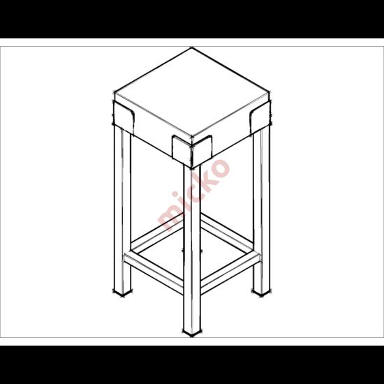 Földi hústőke (40×40×90)