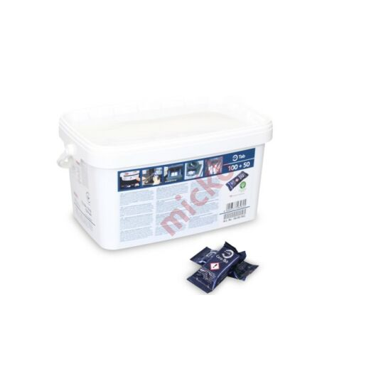 Öblítő és vízkőtelenítő tabletta ICP, ICC és SCC készülékhez
